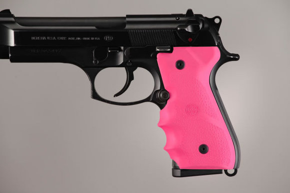 Beretta 92F 92FS 96 M-9 Overmold Rubber Grip for Models with